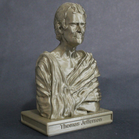 Thomas Jefferson Statue inspired by Browere at Fenimore Art Museum