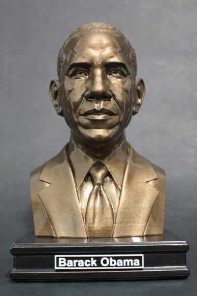 Barack Obama, 44th US President, Premium Sculpture Bust