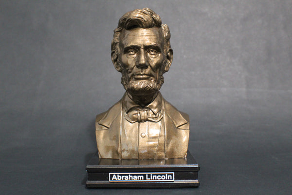 Abraham Lincoln, 16th US President, Premium Sculpture Bust