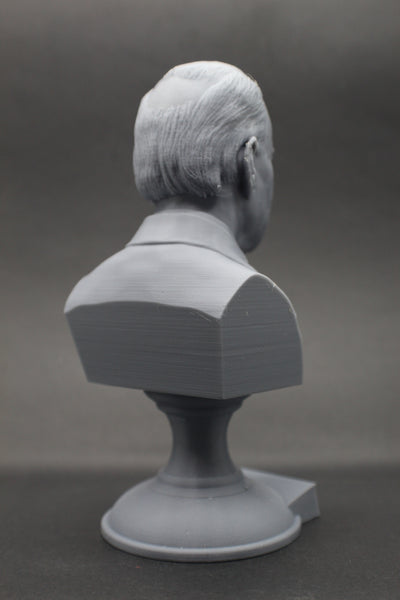 Joe Biden, 46th US President, Sculpture Bust on Pedestal