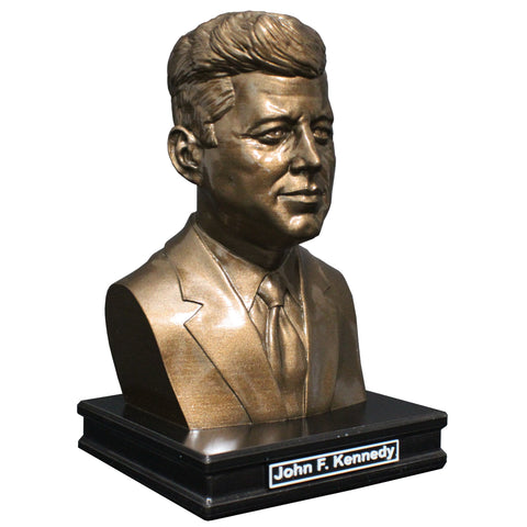 John F. Kennedy, 35th US President, Premium Sculpture Bust