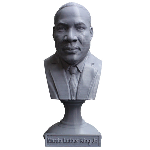 Martin Luther King Jr. Activist and Reform leader Sculpture Bust on Pedestal