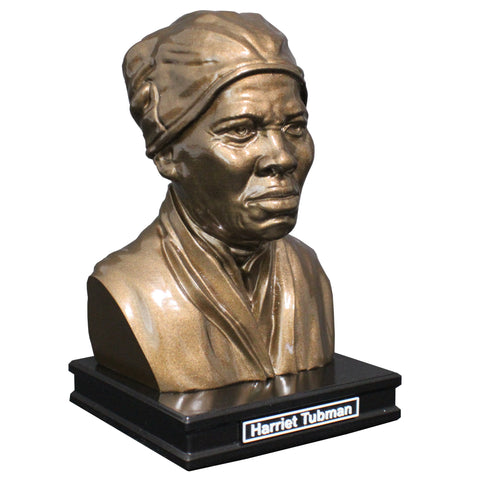 Harriet Tubman, American Abolitionist and Political Activist, Premium Sculpture Bust