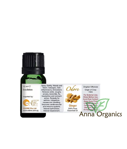 Essential Oil [香精油] 10ml – Ginger