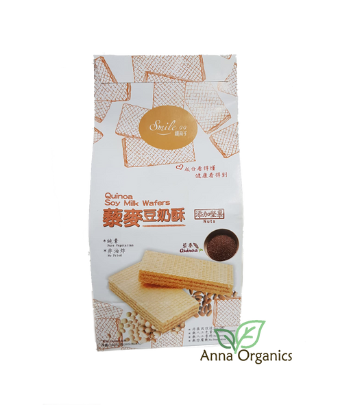 Quinoa Soy Milk Square Wafers [藜麦豆奶酥] 150g