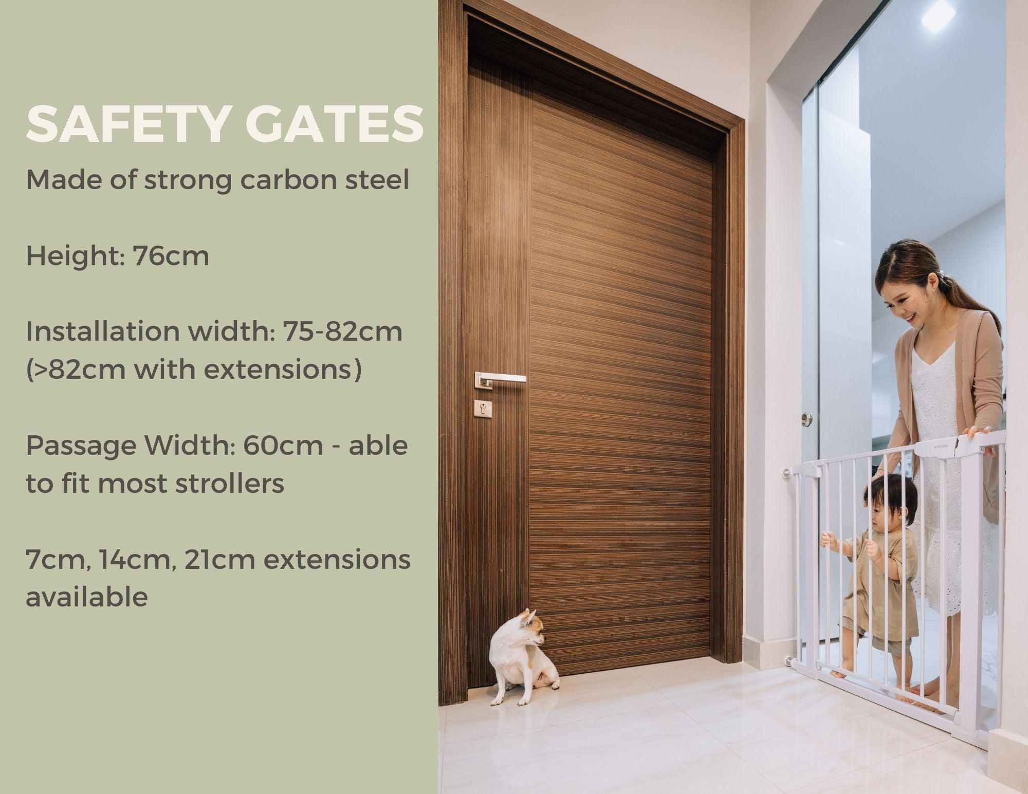 Best Safety Gates for Baby in Singapore