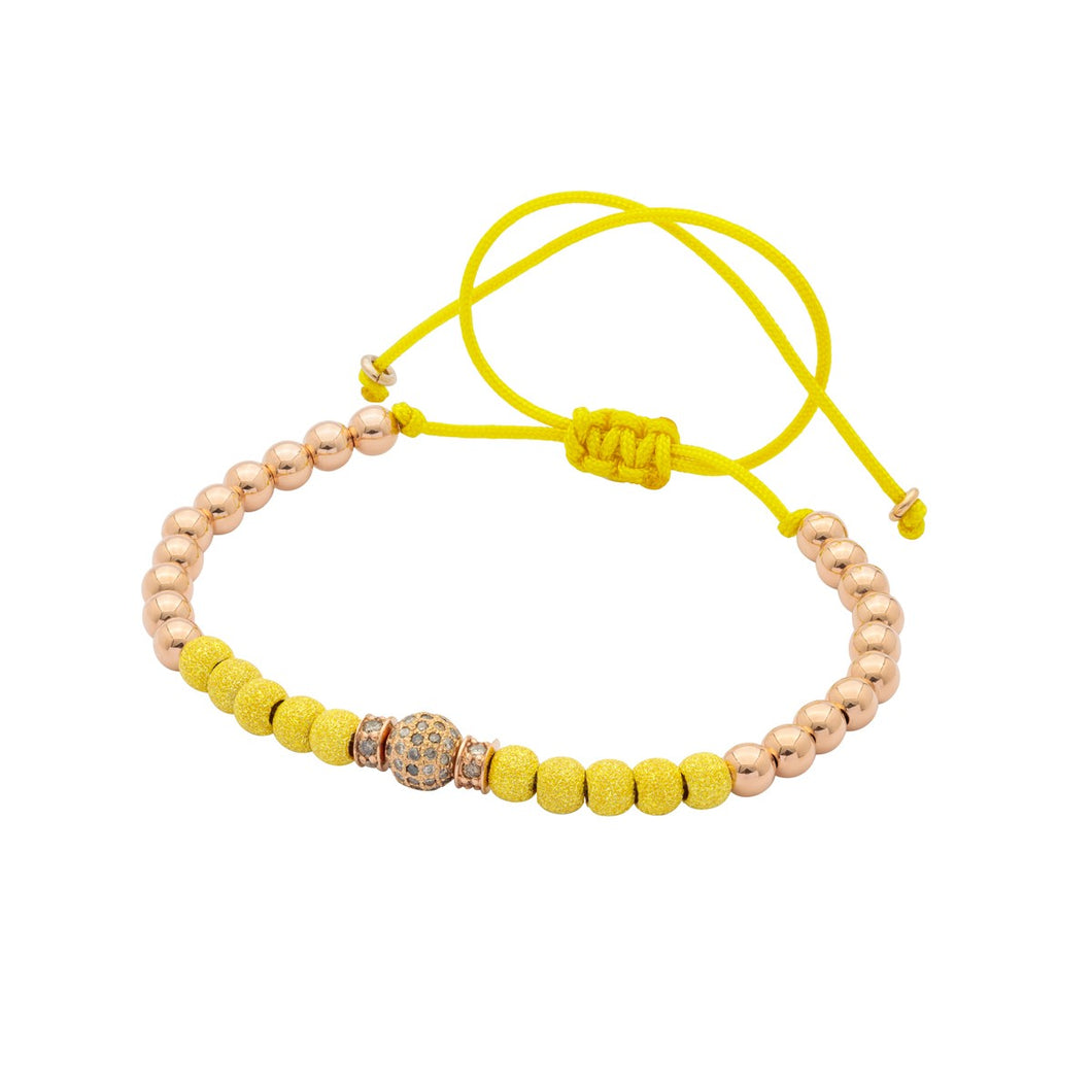 2 RG ministoppers & 1 Diamonds bead - Yellow