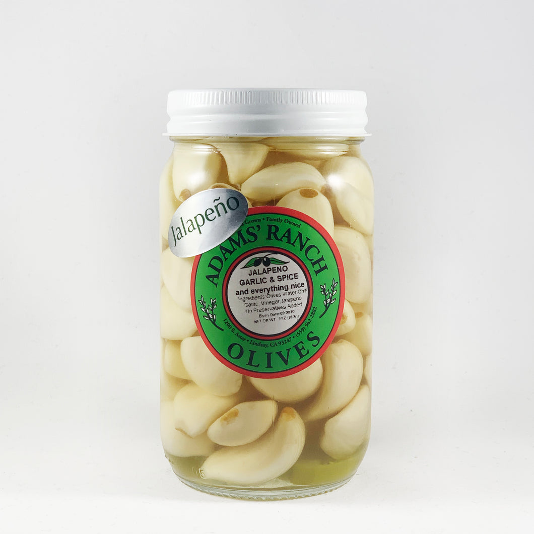 Jalapeno Garlic Cloves