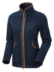 ShooterKing Performance Fleece Jacket- Womens Navy