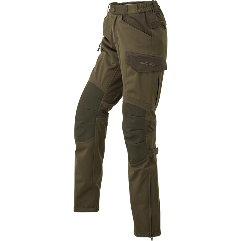 ShooterKing Huntflex Trousers Brown Olive - Womens