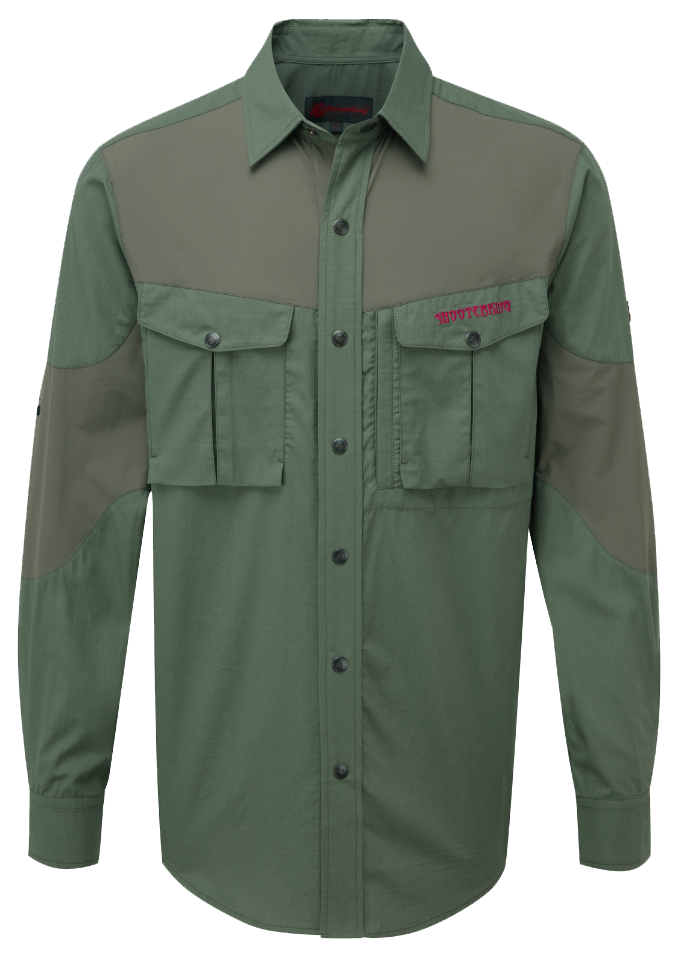 ShooterKing Green Bamboo Anti-Zect Shirt
