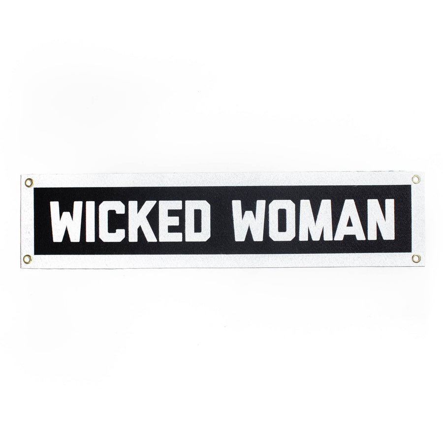 Wicked Woman Banner