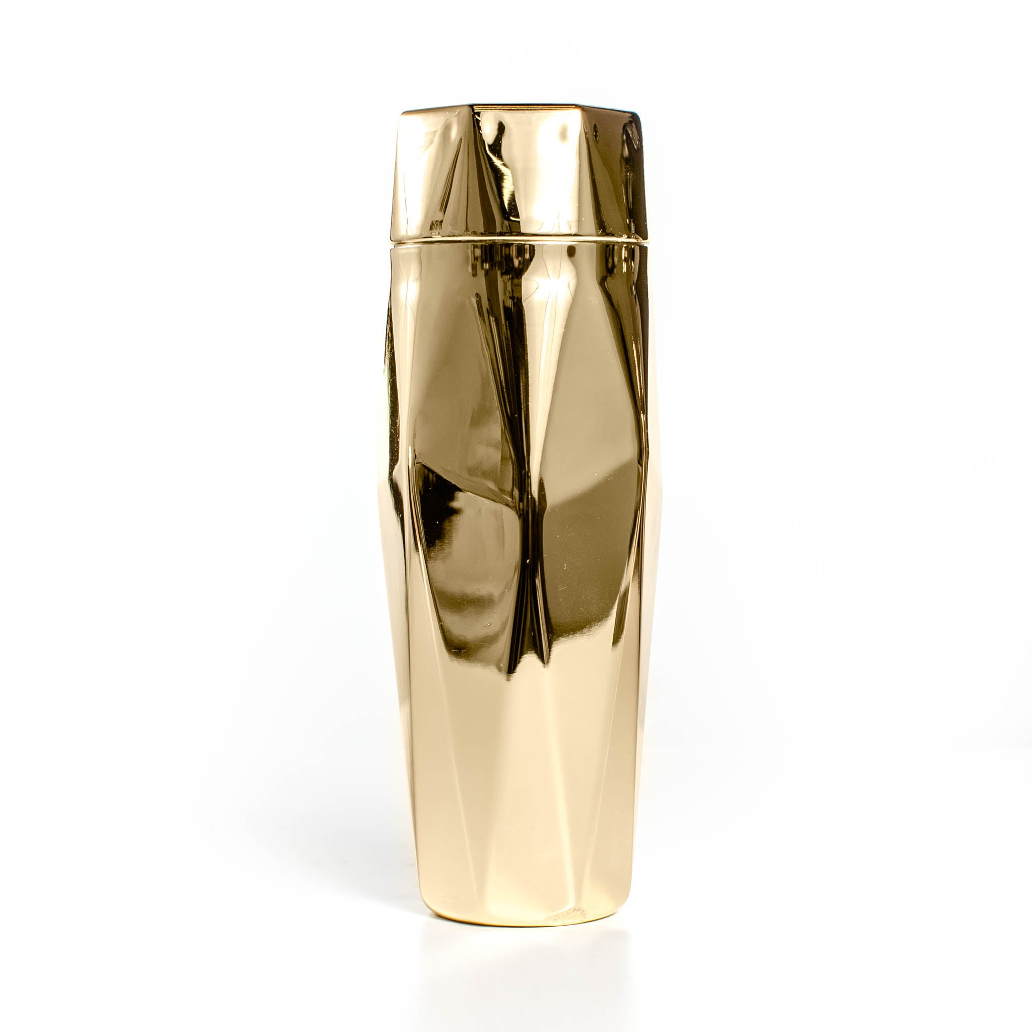 Faceted Gold Shaker