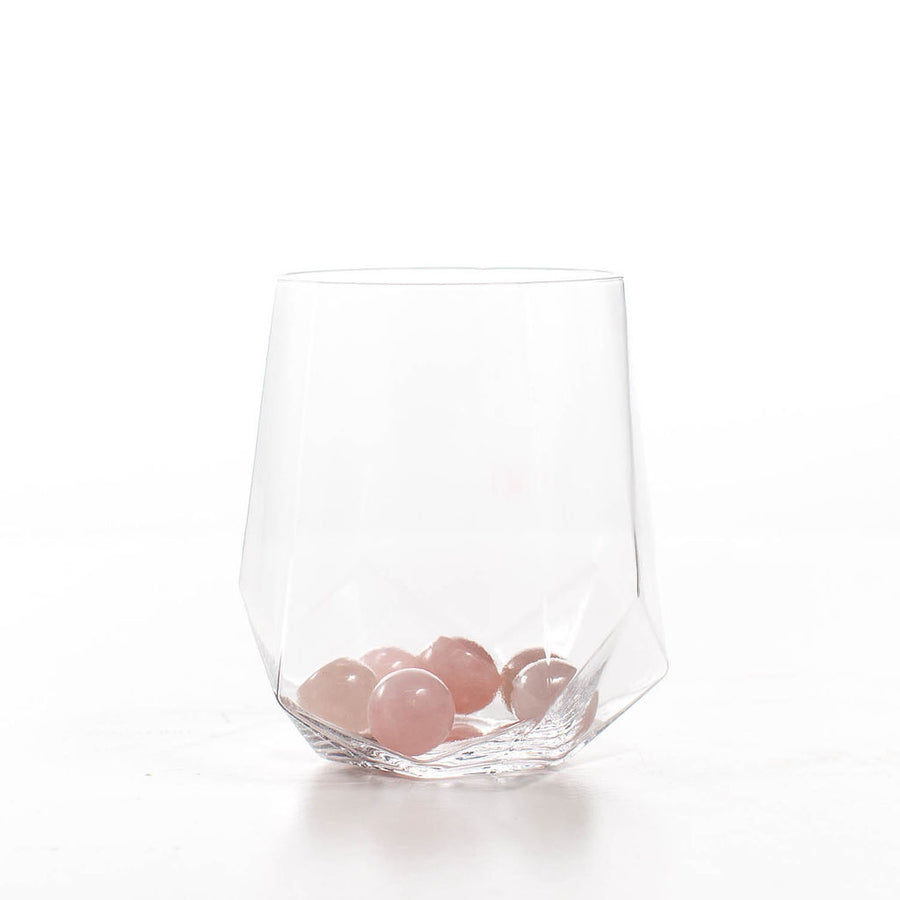 Rose Quartz Wine Gems