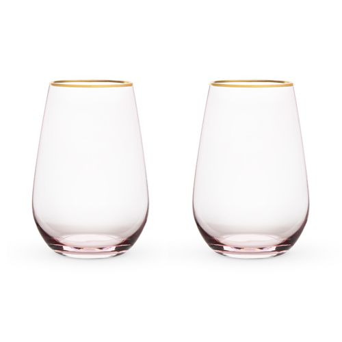 Rose Crystal Stemless