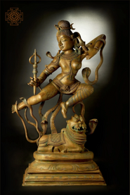 Large Superfine Dancing Ardhanarishvara