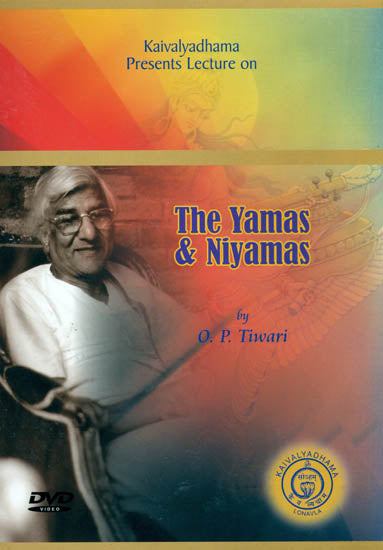 Kaivalyadhama Presents Lecture on The Yamas and Niyamas (DVD)