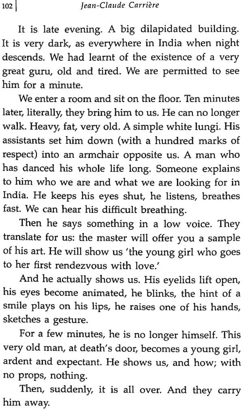 Big Bhishma in Madras (In Search of the Mahabharata with Peter Brook)