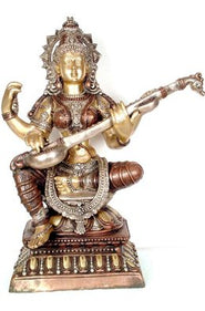 Seated Saraswati