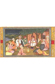 The Sufi gives a Sermon