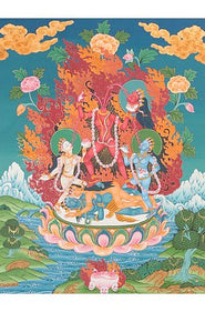 A Synthesis of Hinduism, Buddhism and Tantra