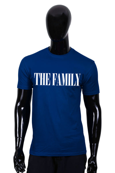 """The Family"" Classic T-Shirt (Blue/White)"
