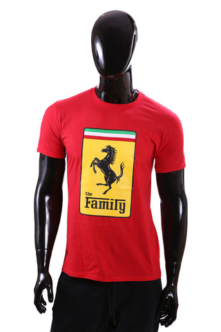 """The Family"" Ferrari Red T-Shirt"