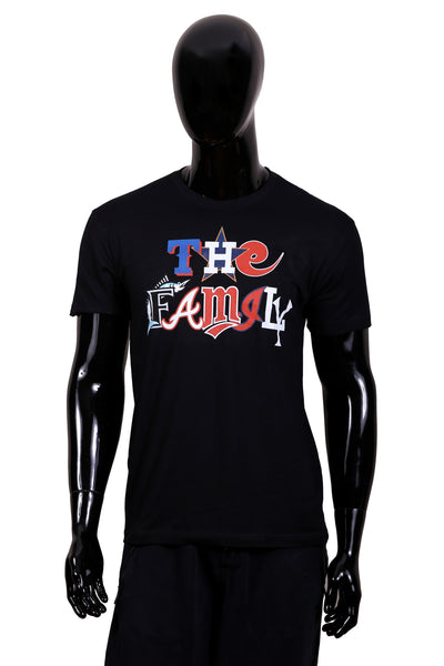 "The Family ""Baseball All-Star"" T-Shirt (Black)"
