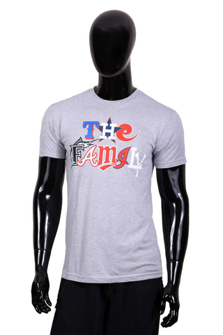 "The Family ""Baseball All-Star"" T-Shirt (Grey)"
