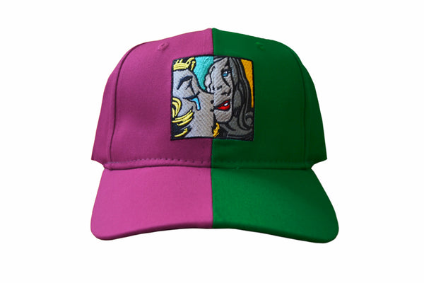 SS Split Dad Hat (Pnk/ Grn)