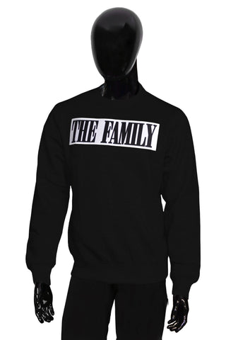 The Family Patch Sweater - Blk