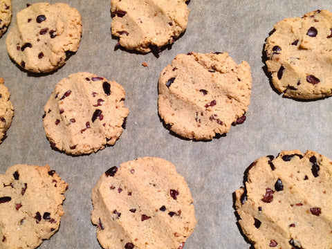 Gluten Free Dairy Free Chocolate Chip Peanut Butter Cookies