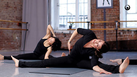 Neck, Back, Side Stretch: Advanced - LASTICS