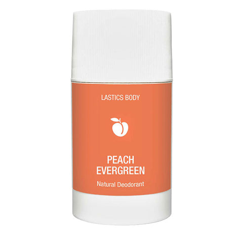 Peach Evergreen Natural Deodorant | Lastics Body