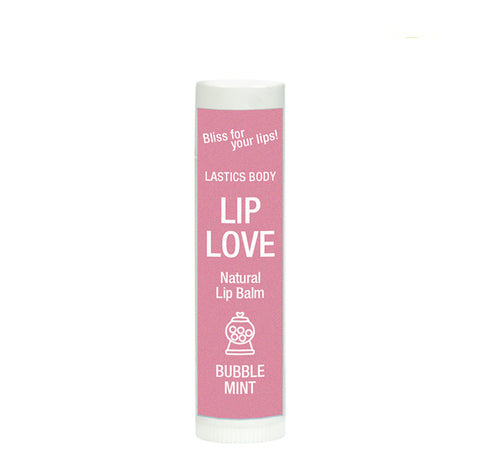 Lip Love Natural Lip Balm: Bubble Mint | LASTICS BODY