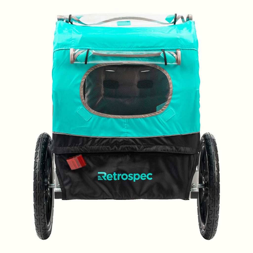 Retrospec Rover 1 Passenger Child Bike Trailer
