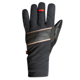 Women's Black Leather Gel Winter Cycling Gloves Touchscreen