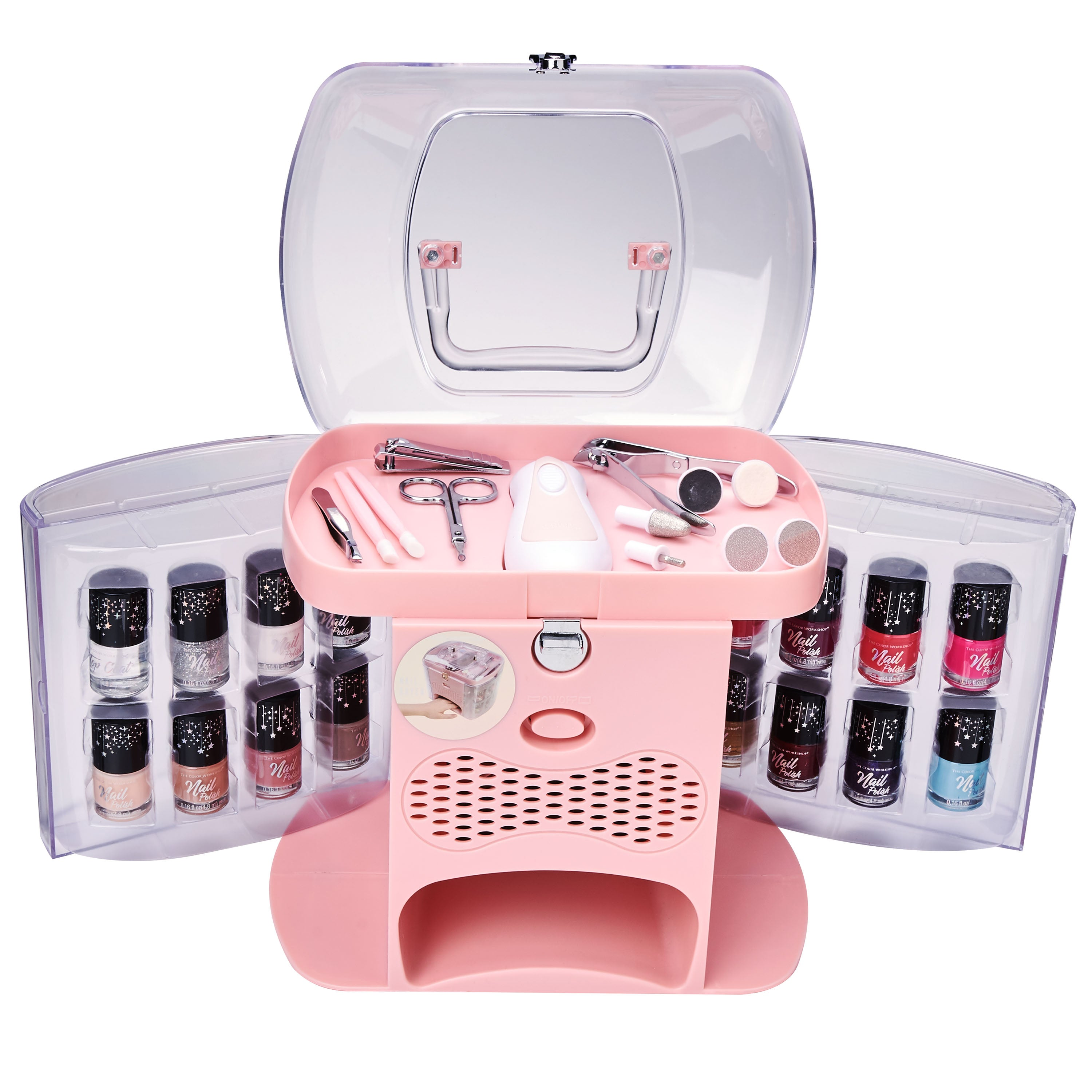 Deluxe Nail Dryer The Color Workshop 30 Pieces.