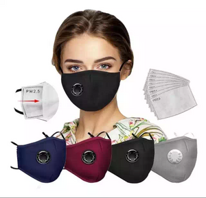Reusable Mask with filters.