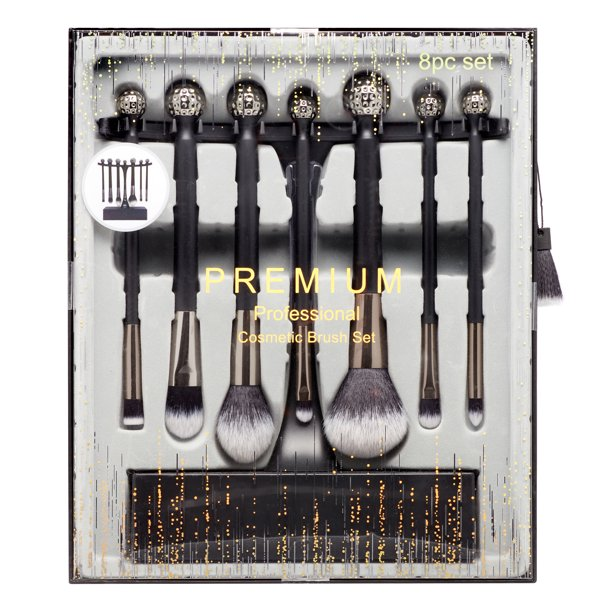 8PC Makeup Brush Set Professional Premium Synthetic Professional