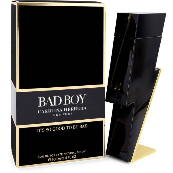 ORIGINAL BRAND Bad Boy by Carolina Herrera 3.4 Oz