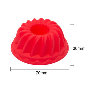 1pc Silicone Cake Decorating Mold Pastry
