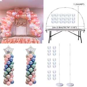 Balloon Arch, Column Stand for Party Decorations