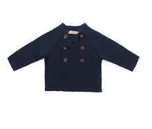 Load image into Gallery viewer, Cute Baby Boys Navy Cardigan Full