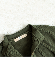 Load image into Gallery viewer, Juniper Cable Knit Cardigan