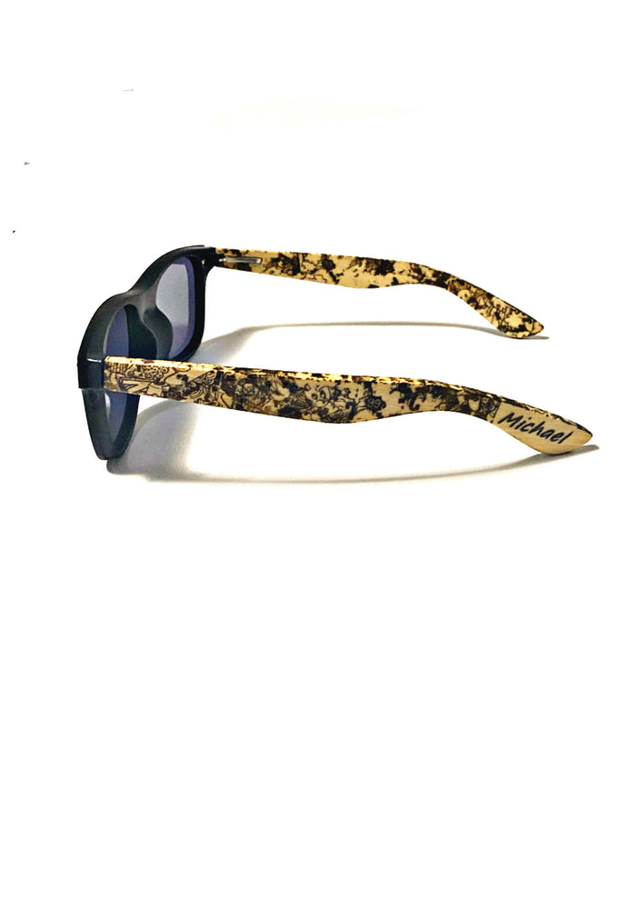 Custom made sunglasses