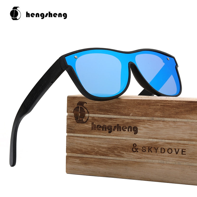 Goggle Sandl Wooden Bamboo Sunglasses  Sunglasses Men Aoron 2019 Mens Polarized Sun Glasses