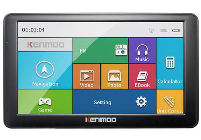 7 inch HD Car Navigator For Russia/Belarus  Europe/USA+Canada