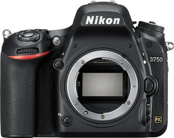 "Nikon D750 DSLR Full Frame Digital Camera -24.3MP FX-Format -Full HD 1080p Video -3.2"" Tilting LCD Wi-Fi (Body Only)"