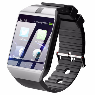 Bluetooth Smart Watch with SIM/TF Card Support